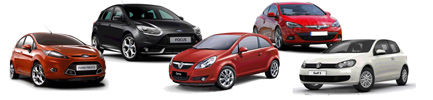 Complete rent a car fleet