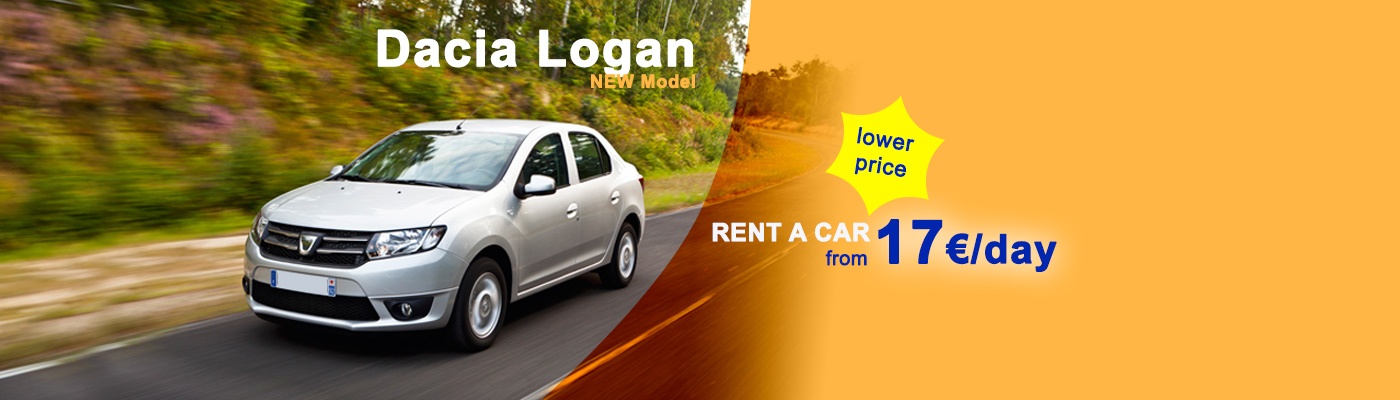 Rent a car Dacia Logan