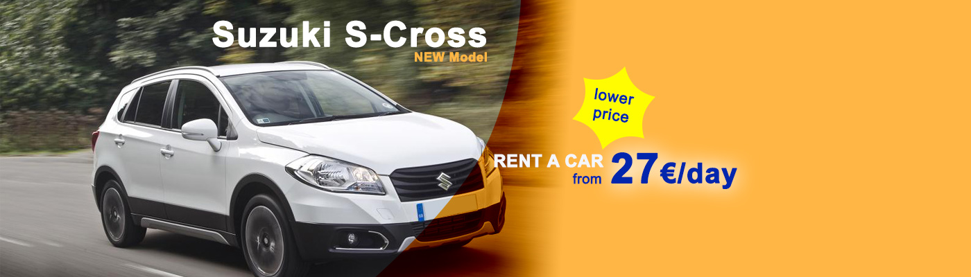 Rent  CrossOver cars